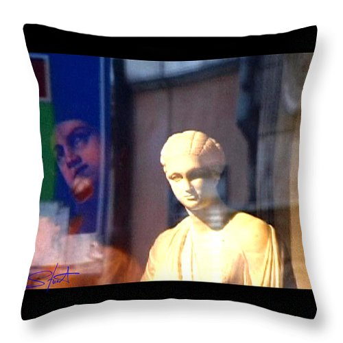 Rome Throw Pillow featuring the photograph Tableau by Charles Stuart