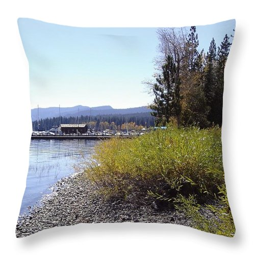 Lake Throw Pillow featuring the photograph Tahoe by Mary Rogers
