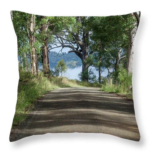 Australia Throw Pillow featuring the photograph Take Me Home Country Roads by Az Jackson