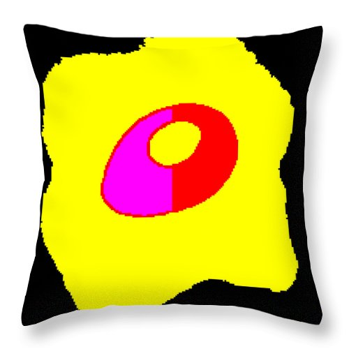 Square Throw Pillow featuring the digital art Taking Form by Eikoni Images