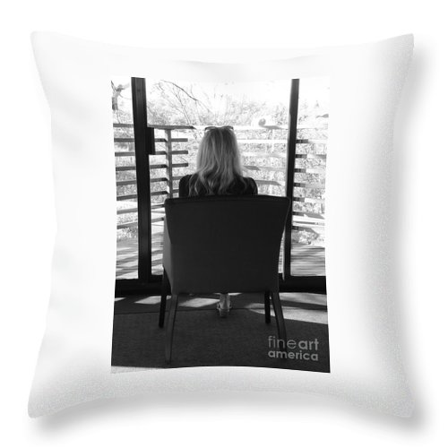 Love Throw Pillow featuring the photograph Talking To God by Traci Hallstrom