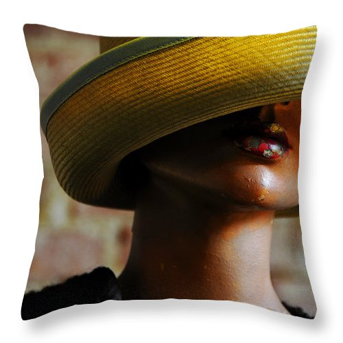 Aged Throw Pillow featuring the photograph Tel Aviv by Skip Hunt