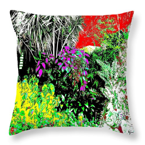Square Throw Pillow featuring the digital art Ten Eleven Fifteen by Eikoni Images
