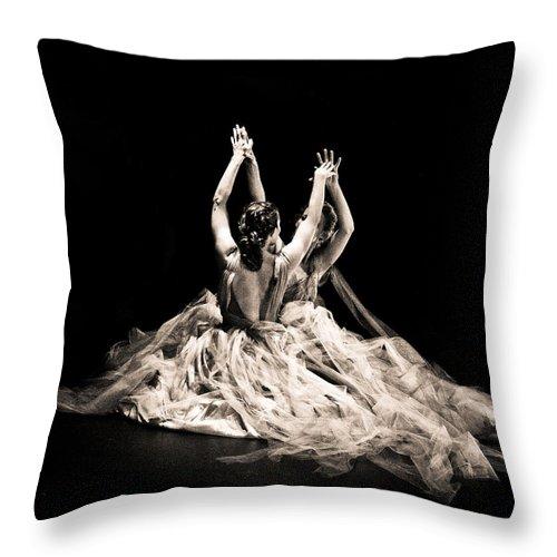 Dance Throw Pillow featuring the photograph Tender Dance by Scott Sawyer