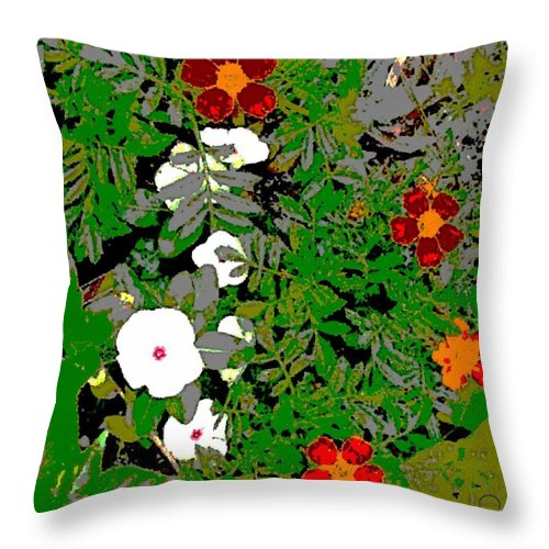 Square Throw Pillow featuring the digital art Tenderness by Eikoni Images