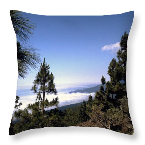 Tenerife Throw Pillow featuring the photograph Tenerife by Flavia Westerwelle