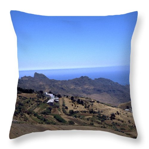 Tenerife Throw Pillow featuring the photograph Tenerife II by Flavia Westerwelle