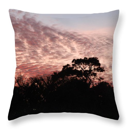 Sky Throw Pillow featuring the photograph Thanksgiving Sky by Rob Hans