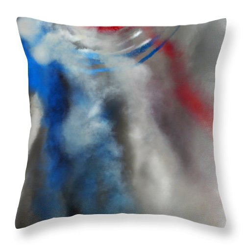 Red Arrows Throw Pillow featuring the photograph The Air Kingdom by Angel Ciesniarska