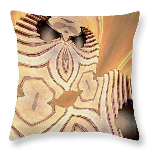 Photography Throw Pillow featuring the photograph The Alien by Paul Wear