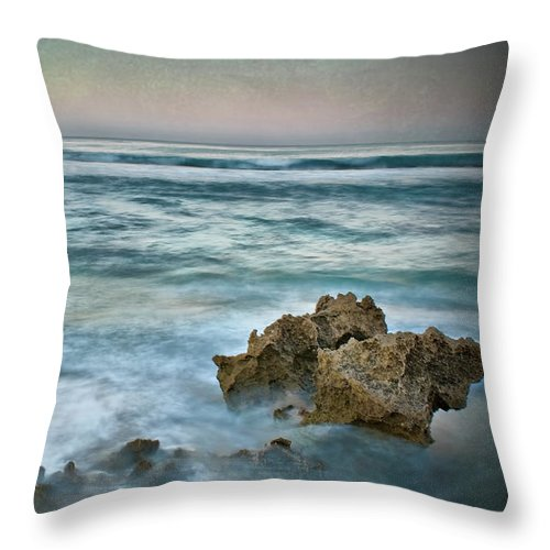 Dawn Throw Pillow featuring the photograph The Allure Of Morning by Kym Clarke