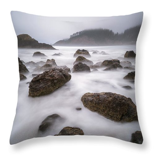 America Throw Pillow featuring the photograph The Balanced Nature by William Freebilly photography