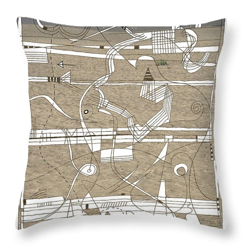 Bay Throw Pillow featuring the photograph The Bay by Andy Mercer
