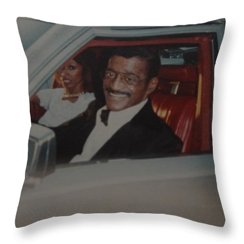 Movie Star Throw Pillow featuring the photograph The Candy Man by Rob Hans