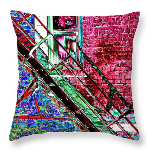 Theater Throw Pillow featuring the photograph The Case by Tim Allen