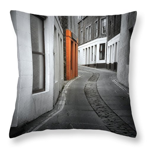 Scotland Throw Pillow featuring the photograph The Clear Target by Radek Spanninger