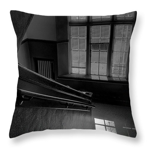 Window Throw Pillow featuring the photograph The Conversation Window by David Patterson