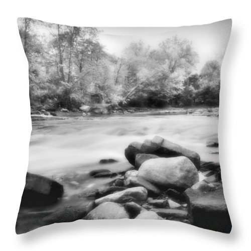 Bedford Throw Pillow featuring the photograph The Creek by Kenneth Krolikowski