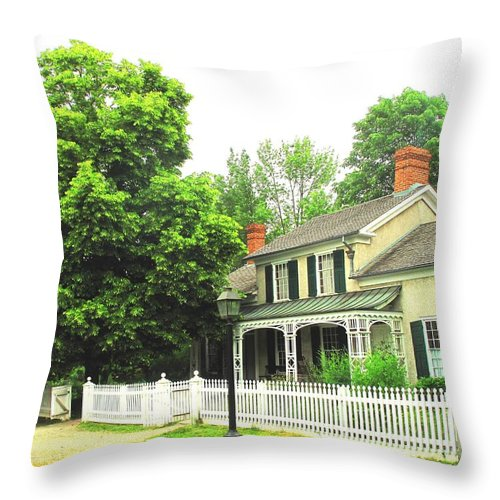 Doctor Throw Pillow featuring the photograph The Doctors House by Ian MacDonald