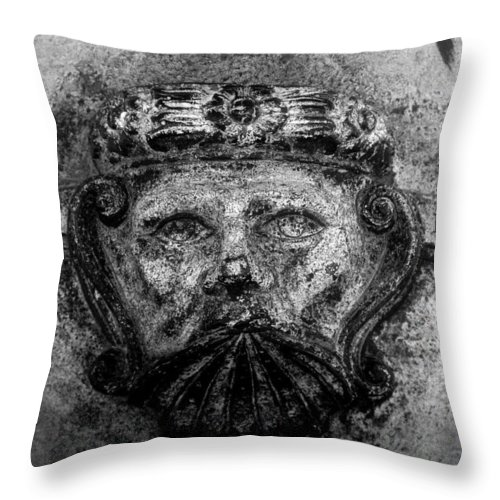 Face Throw Pillow featuring the photograph The Face Of War by David Lee Thompson
