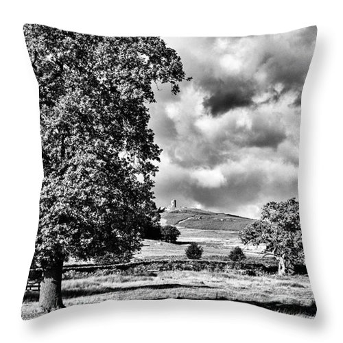 Parkland Throw Pillow featuring the photograph Old John Bradgate Park by John Edwards