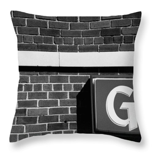 Abstract Throw Pillow featuring the photograph The G Spot by Steven Huszar