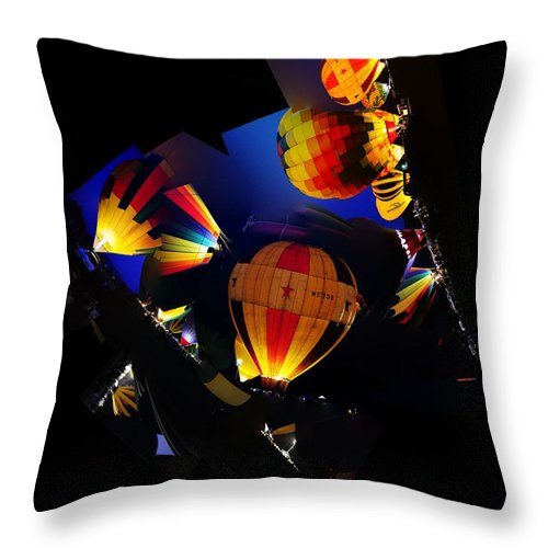 Clay Throw Pillow featuring the photograph The Glow by Clayton Bruster