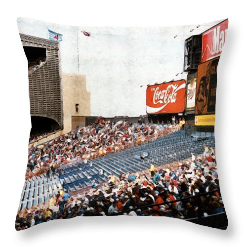 Cleveland Throw Pillow featuring the photograph The Grand Finale by Kenneth Krolikowski