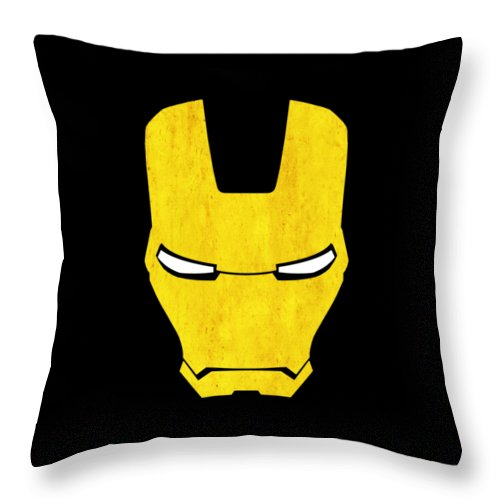 Iron Man Throw Pillow featuring the photograph The Iron Man by Mark Rogan