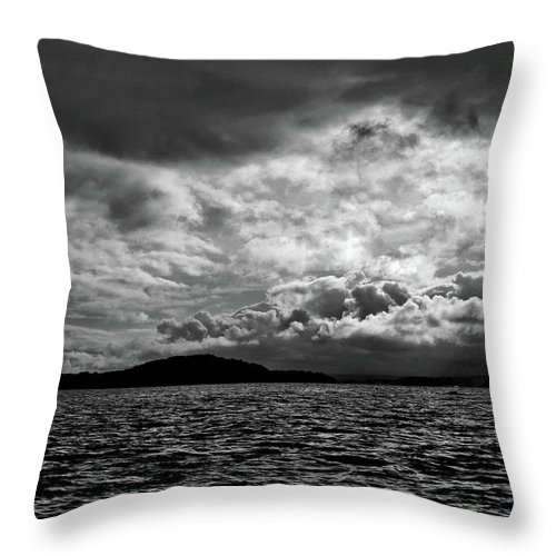 Nature Throw Pillow featuring the photograph The Lake by John K Sampson