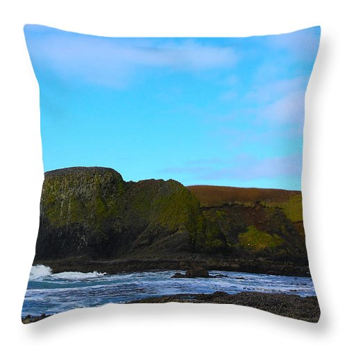Lighthouse Throw Pillow featuring the photograph The Lighthouse by Steve McKinzie
