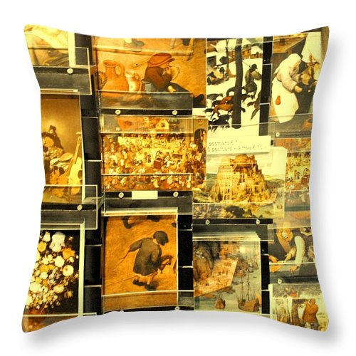 Art Throw Pillow featuring the photograph The Masters Reduced To This by Ian MacDonald