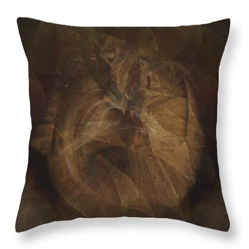 Onion Throw Pillow featuring the photograph The Onion by Helyn Broadhurst Cornille