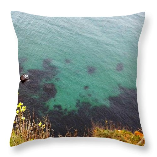 Water Throw Pillow featuring the photograph The Paradise Under The Water by Aleksandra Savova