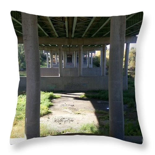 Landscape Throw Pillow featuring the photograph The Portal by Stephen King