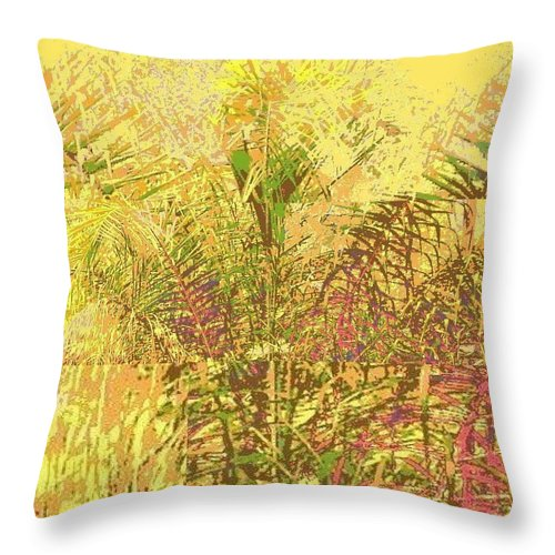 Square Throw Pillow featuring the digital art The Queen by Eikoni Images