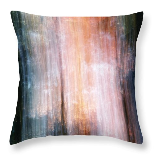 Lightbeam Throw Pillow featuring the photograph The Realm Of Light by Steven Huszar