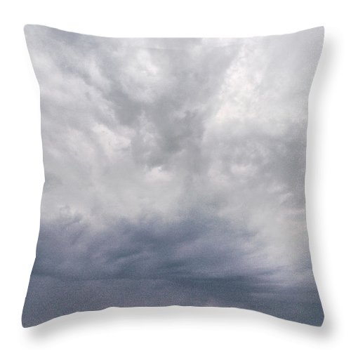 Lehtokukka Throw Pillow featuring the photograph The Rising Storm 2 by Jouko Lehto