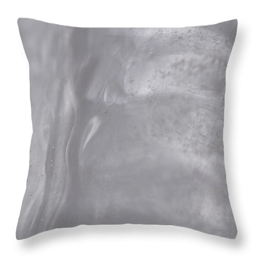 Icicle Throw Pillow featuring the photograph The Shard by Richard Andrews