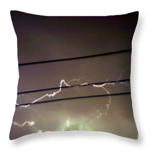 Sky Throw Pillow featuring the photograph The Storm 1.4 by Joseph A Langley