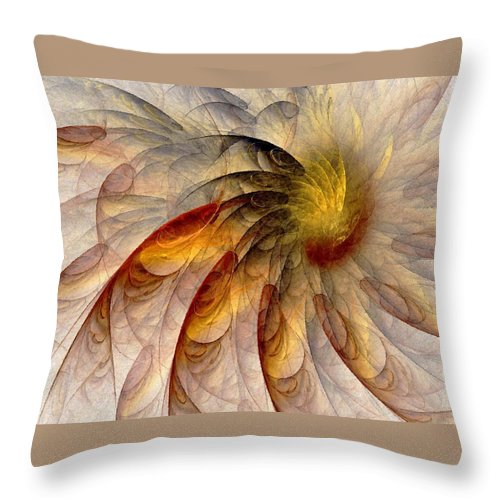 Sun Throw Pillow featuring the digital art The Sun Do Move - Remembering Langston Hughes by NirvanaBlues