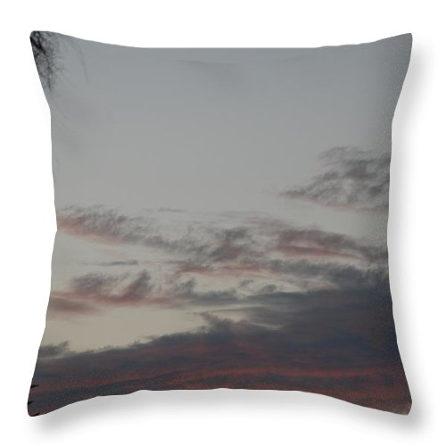 Sunset Throw Pillow featuring the photograph The Sunset by Rob Hans
