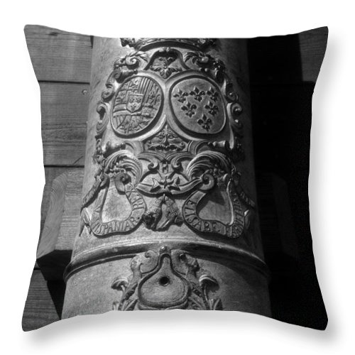 Spain Throw Pillow featuring the photograph The Symbol Of Empire by David Lee Thompson