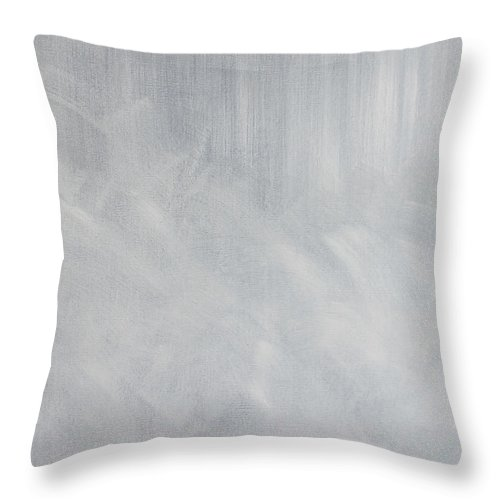 Throw Pillow featuring the painting The Vast Expanse Of The Mind by Min Zou