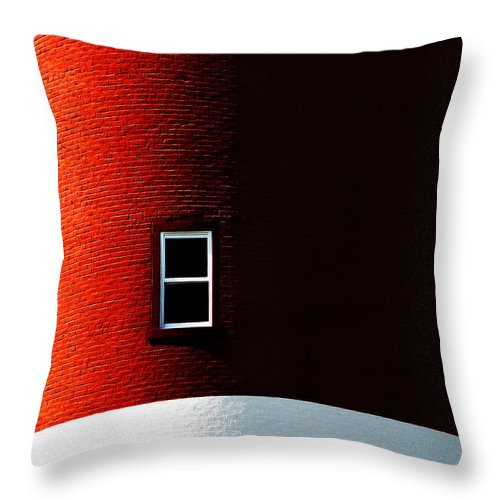 Dipasquale Throw Pillow featuring the photograph The View by Dana DiPasquale
