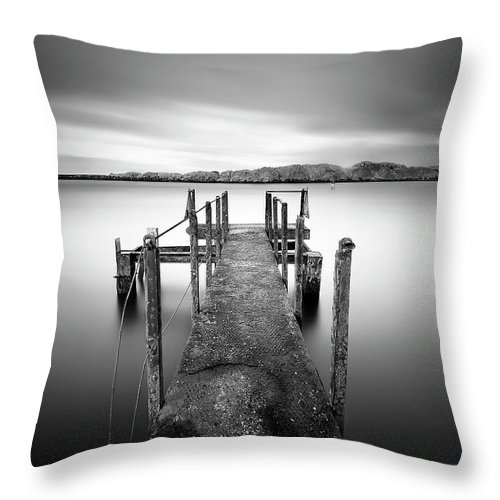 Wait Throw Pillow featuring the photograph The Wait by Pawel Klarecki