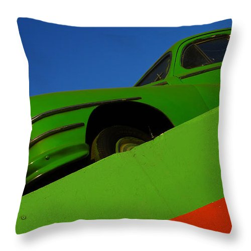 Skip Hunt Throw Pillow featuring the photograph The Way We Roll by Skip Hunt