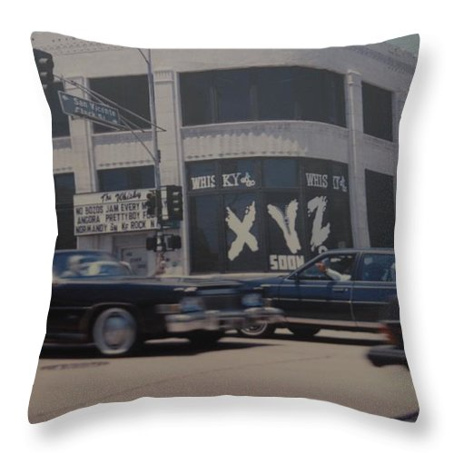 The Whiskey Throw Pillow featuring the photograph The Whiskey by Rob Hans