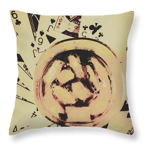 Casino Throw Pillow featuring the photograph The Wild West Casino by Jorgo Photography - Wall Art Gallery