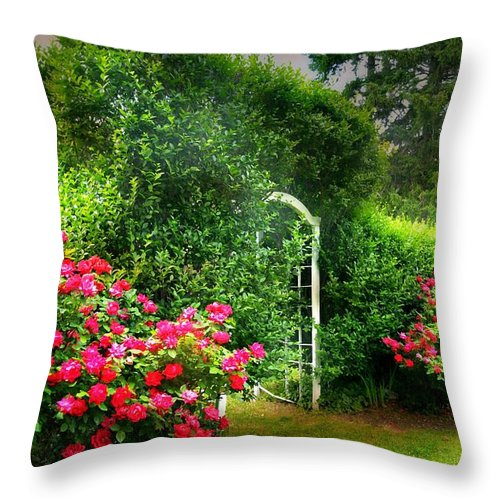 The Will To Be Throw Pillow featuring the photograph The Will To Be by Diana Angstadt